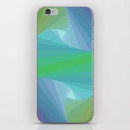 Geometric Voids iPhone Skin