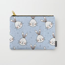 Rabbits Pattern Carry-All Pouch