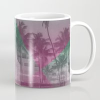 miami Mugs featuring Miami by Sander Smit