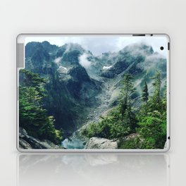 Mountain through the clouds Laptop & iPad Skin