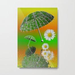 umbrella time -14- Metal Print