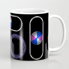 Trans Pride with Oval Coffee Mug