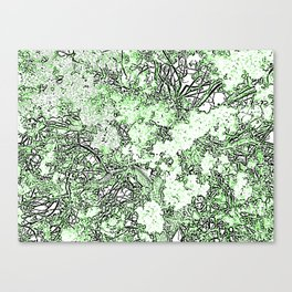 IN GREEN Canvas Print