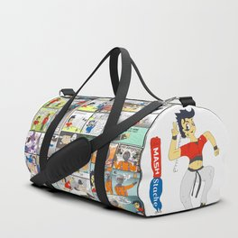 MashStache All Over the place Duffle Bag