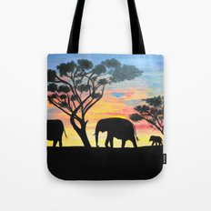 Sunset Travelers  Tote Bag