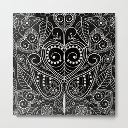 Leaf Art Metal Print