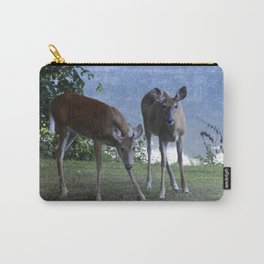Grazing Deer Carry-All Pouch