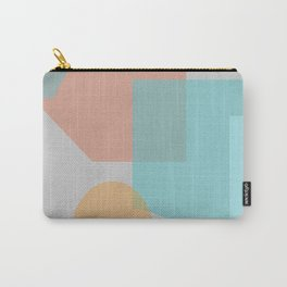 Retro Blues Carry-All Pouch