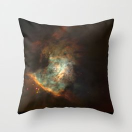 Hubble Space Telescope - The Center of the Orion Nebula (1995) Throw Pillow