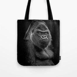 Impressive Silverback Tote Bag
