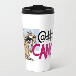 Cancer needs to go Travel Mug