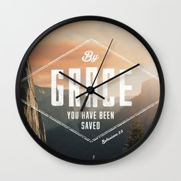Ephesians 2:5 Wall Clock