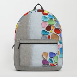 Mosaic Polka Daubs Backpack