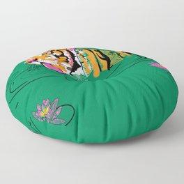 Tigar Lily Floor Pillow