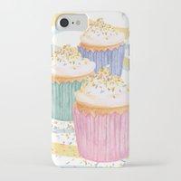 sprinkles iPhone & iPod Cases featuring Sprinkles by Hayley Bowerman Design