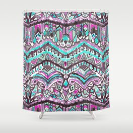 Barbarian Tribe in Mystic Summer Shower Curtain