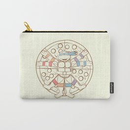 Vitruvian Turtle Carry-All Pouch