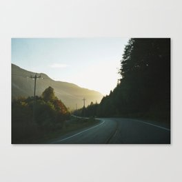 Island Highway Canvas Print