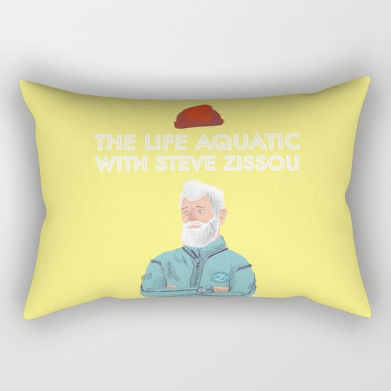 I'm going to find it and I'm going to destroy it. Rectangular Pillow