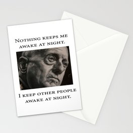 Mattis - Nothing Keeps Me Awake Stationery Cards