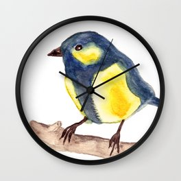 Blue Pinzon Wall Clock