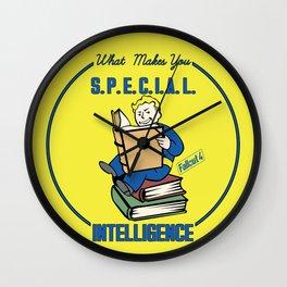 Intelligence S.P.E.C.I.A.L. Fallout 4 Wall Clock