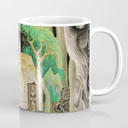 1925 Classical Masterpiece 'Hansel and Gretel by Brothers Grimm' by Kay Nielsen Coffee Mug