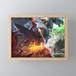 Lancer Paragon Blitzcrank Lancer Rogue Blitzcrank League Of Legends Framed Mini Art Print