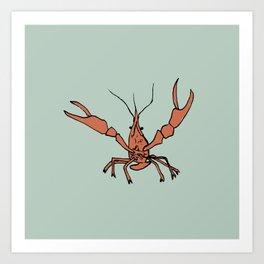 Mr. Crawfish Art Print