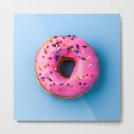 Delicious Donut Metal Print