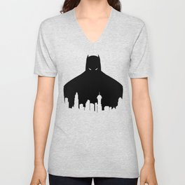 Gotham's Bat-Man Unisex V-Neck