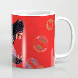 Hating those bubbles - A German Shepherd's rant Coffee Mug
