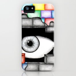 They're Always Watching iPhone Case