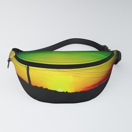Lion Head Fanny Pack