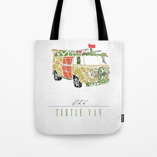 The Turtle Van Tote Bag