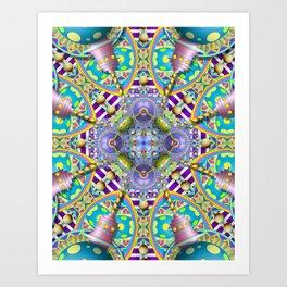 Perpetual Psychedelic Machine Art Print
