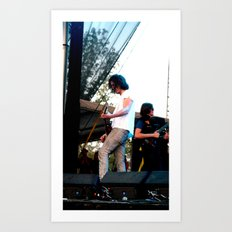 Nick Valensi - The Strokes Art Print