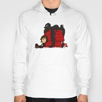 peanuts Hoodies featuring Dragon Peanuts by le.duc