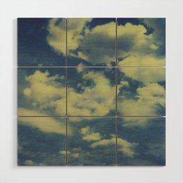 clouds Wood Wall Art
