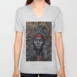 Amerindian Atrocity Unisex V-Neck