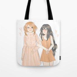Uraraka and Tsuyu Tote Bag