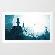 Dark Night Art Print