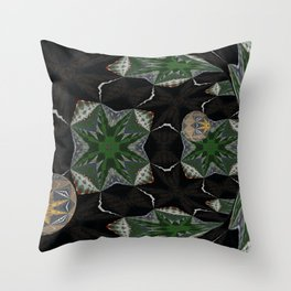 Another Solemn Tube Throw Pillow