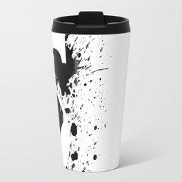 No. 5 - New typo - black ink Travel Mug