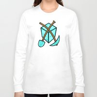 geology Long Sleeve T-shirts featuring It's All About The Diamonds by Artistic Dyslexia
