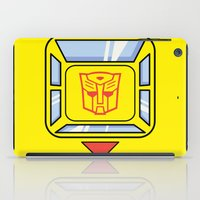transformers iPad Cases featuring Transformers - Bumblebee by CaptainLaserBeam