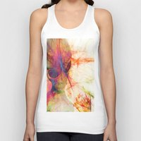 contact Tank Tops featuring Contact by Joe Ganech