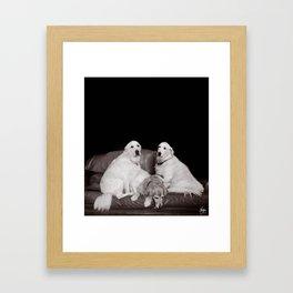 Bookends Framed Art Print