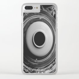 Pot Making Clear iPhone Case