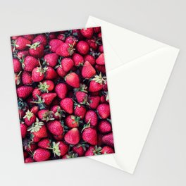 Summer Strawberries Stationery Cards